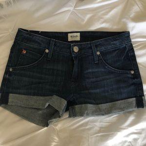 Hudson denim shorts size 25